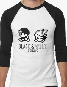 Pokemon Black & White Origins Men's Baseball ¾ T-Shirt