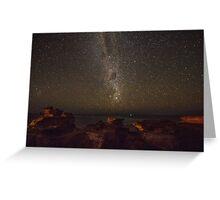 gantheaume night sky  Greeting Card