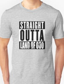 Straight Outta Land of Ooo Unisex T-Shirt