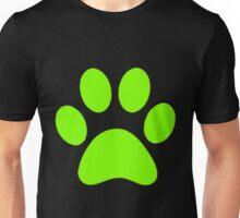 Chat Noir Paw Print (Singular) Unisex T-Shirt