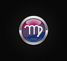 Virgo - Bisexual Pride  by LiveLoudGraphic
