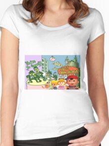 Smash 64 Ness Congratulations Screen Women's Fitted Scoop T-Shirt