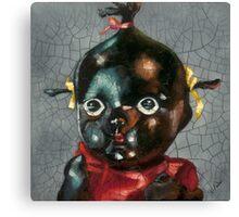 I'm Fine #5, (Antique Traditional Pikinini Doll) Canvas Print