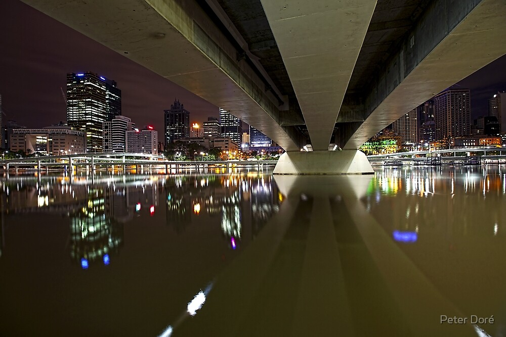 Underneath the arches... by Peter Doré