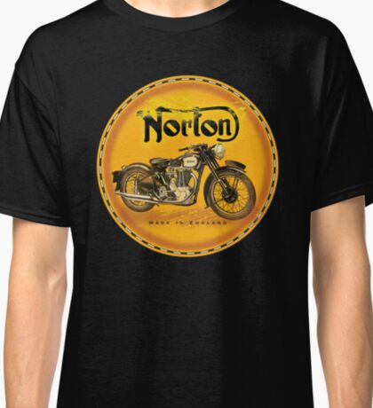 Norton Motorcycles England Classic T-Shirt