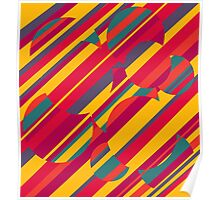 Colorful pattern Poster