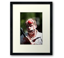 Cricket is not for Zombies Framed Print