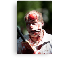 Cricket is not for Zombies Canvas Print