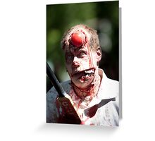 Cricket is not for Zombies Greeting Card