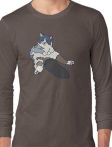 Fluffy & Lazy Long Sleeve T-Shirt