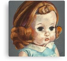 I'm Fine #6 (Red Headed 60's doll) Canvas Print