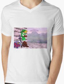 Smash 64 Link Congratulations Screen Mens V-Neck T-Shirt