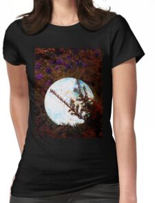 Glowing Glass Orb Womens Fitted T-Shirt