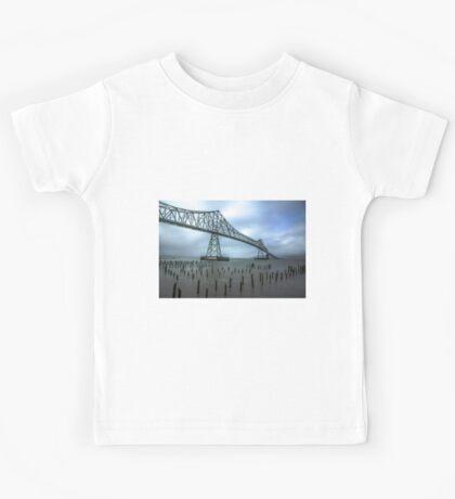 The Astoria–Megler Bridge, Astoria, Oregon Kids Tee