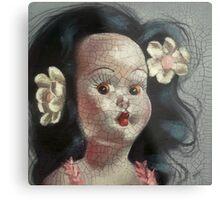 I'm Fine #9, (Hawaiian Doll) Metal Print