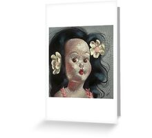 I'm Fine #9, (Hawaiian Doll) Greeting Card