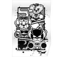 Super Trinity - B&W Poster
