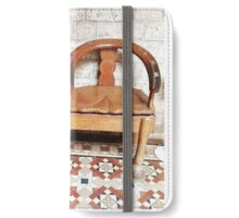 Antique Jockey Scale, India iPhone Wallet/Case/Skin
