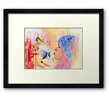 Remind Death / Sense of Life Framed Print