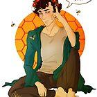 Sherlock in a Flower Crown by wellkeptsecret