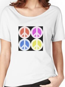 Peace Patch Women's Relaxed Fit T-Shirt