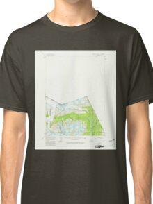 USGS TOPO Map Alaska AK Bradfield Canal A-1 354742 1955 63360 Classic T-Shirt