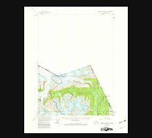USGS TOPO Map Alaska AK Bradfield Canal A-1 354742 1955 63360 Unisex T-Shirt