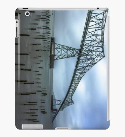 The Astoria–Megler Bridge, Astoria, Oregon Perspective #2 iPad Case/Skin