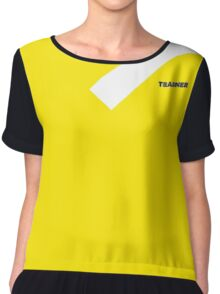 Pokemon Go Team Instinct yellow Trainer Spark's side! Chiffon Top