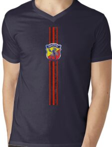 Abarth Italy Mens V-Neck T-Shirt