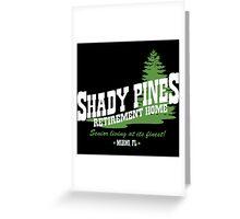Shady Pines Greeting Card