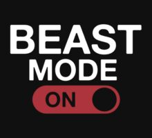 Beast Mode Activated One Piece - Short Sleeve
