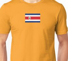 Costa Rica Flag Products Unisex T-Shirt