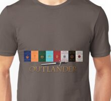 Outlander books with sword Unisex T-Shirt