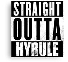 Straight Outta Hyrule Canvas Print