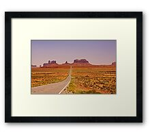 Monument Valley - Arizona/Utah Framed Print