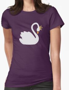 SwanQueen Womens Fitted T-Shirt