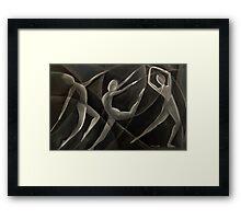 Triple Dancers Framed Print