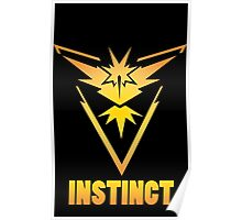 Pokemon GO -  Team Instinct Poster
