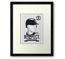 RE2PECT. Framed Print
