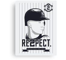 RE2PECT. Canvas Print