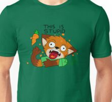Foxes dislike carrots Unisex T-Shirt