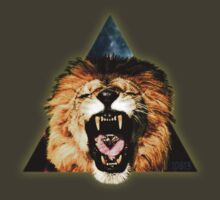 Lion Triangle by 10813Apparel