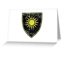 Nilfgaard Coat of Arms (No Text) - Witcher Greeting Card