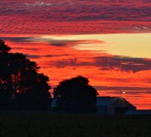 Before The Sun Rises Sticker