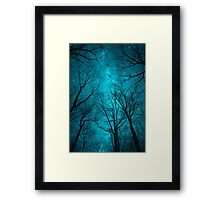 Stars Can't Shine Without Darkness Framed Print