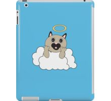 Angel Cat on Cloud iPad Case/Skin