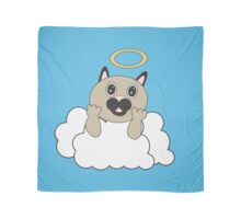 Angel Cat on Cloud Scarf