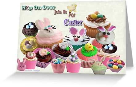Easter Cup Cakes: Invitation ( 919 Views) by aldona
