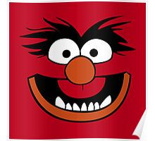 Animal Muppet (Orange Lips&Nose) Poster